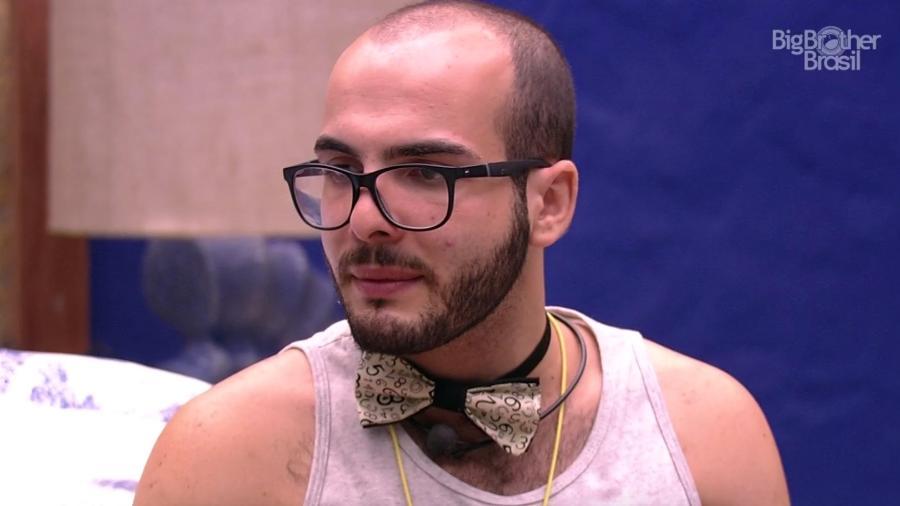 Mahmoud fala sobre seu comportamento dentro do jogo  - Reprodução/GloboPlay