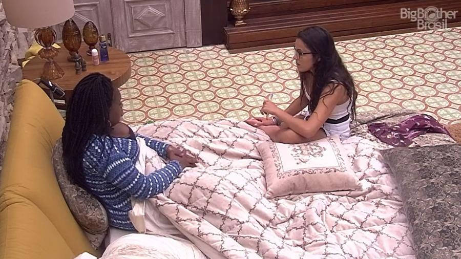 Emilly quer votar em Marinalva, mas acha que ganhará inimigos - Reprodução/TV Globo
