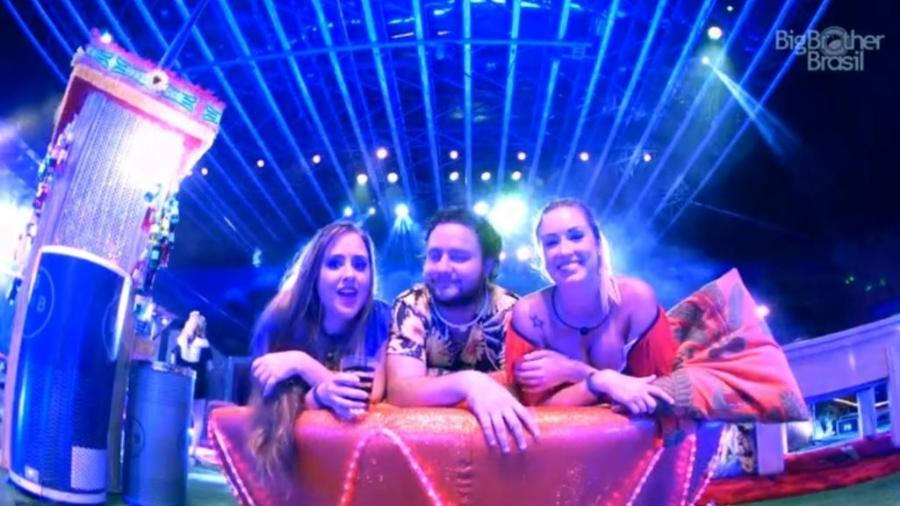 Patrícia, Diego e Jéssica mandam recado para Lucas - Reprodução/GloboPlay