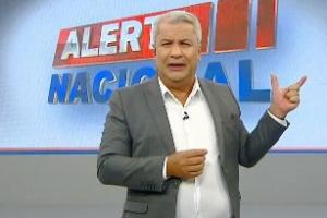 Sikêra Jr commão levantada durante o Alerta Nacional