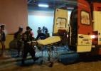 Moradora de rua é atingida por bomba de São João no Centro do Recife - Reprodução/TV Jornal