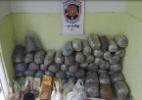PM apreende 62 kg de maconha, crack e cocaína na Zona Sul do Recife - Reprodução/TV Jornal