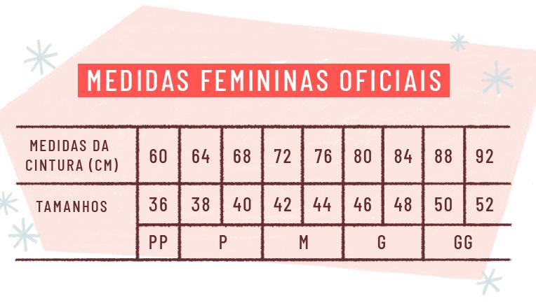 aafac6b53 A NBR para roupas femininas vai abranger do tamanho 34 ao 64