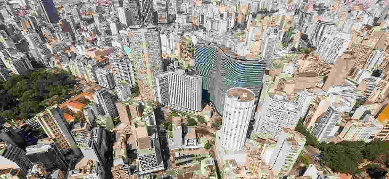 Vista aérea do centro de São Paulo - Adobe Stock