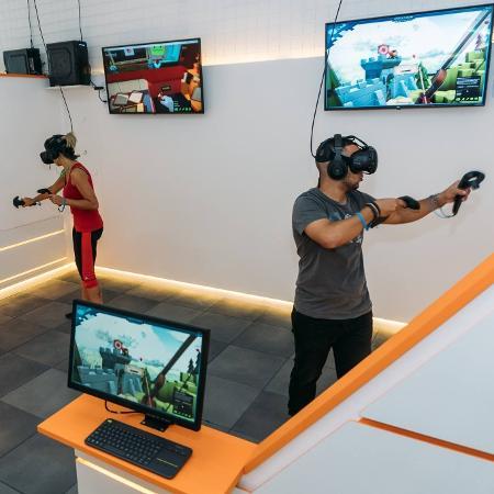 Arena de realidade virtual da VR Gamer - Divulgação