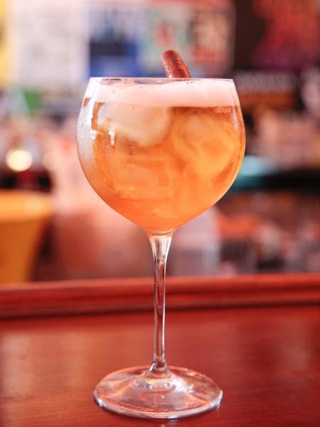 Drinque Queens Delight, do Le Jazz Petit - Mario Leite/Divulgação