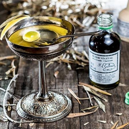 Drinque Dry Alaska, do Frank Bar - Leo Feltran / Divulgação
