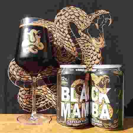 Black Mamba, cerveja Imperial Stout da Cervejaria Augustinus  - Divulgação - Divulgação