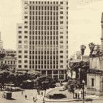Largo do Paissandú - Anos 50 - Divulgação