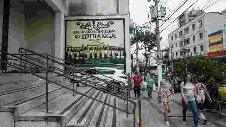 Fachada do Mercado Municipal do Ipiranga - Keiny Andrade/UOL - Keiny Andrade/UOL