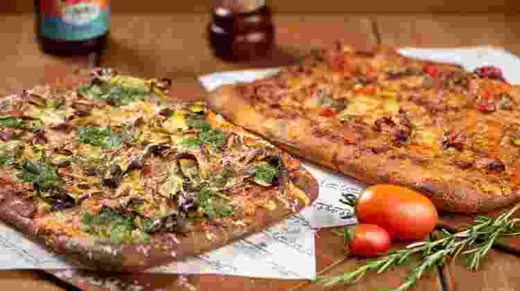 Pizzas do restaurante Prana - Divulgação - Divulgação