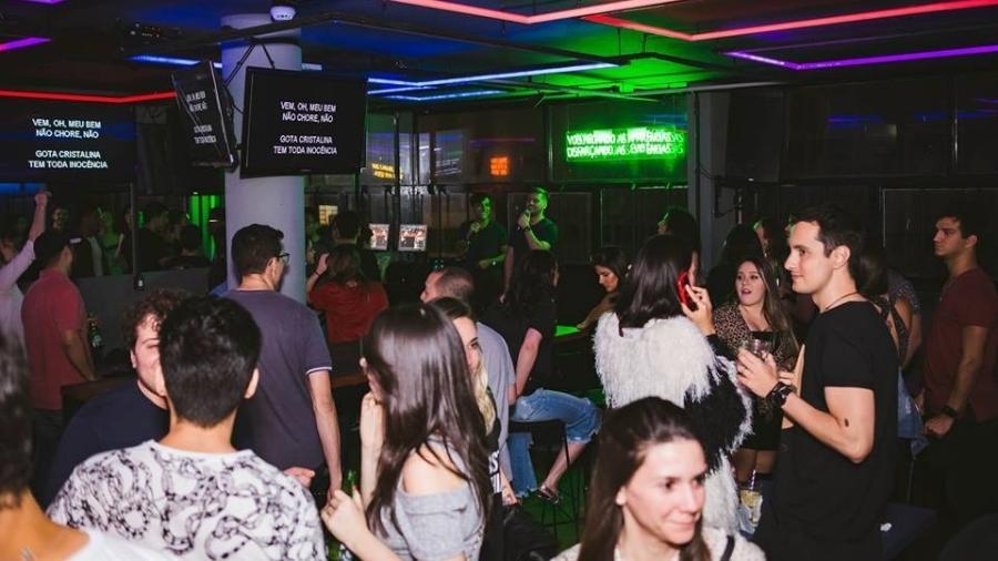 Karaokê do bar Tokyo - Divulgação