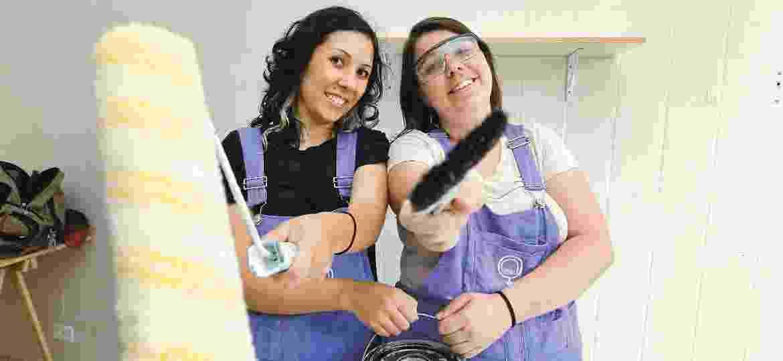 """O M""""Ana oferece serviços de reparos e manutenção domésticos com mão de obra exclusivamente feminina. - Divulgação"""