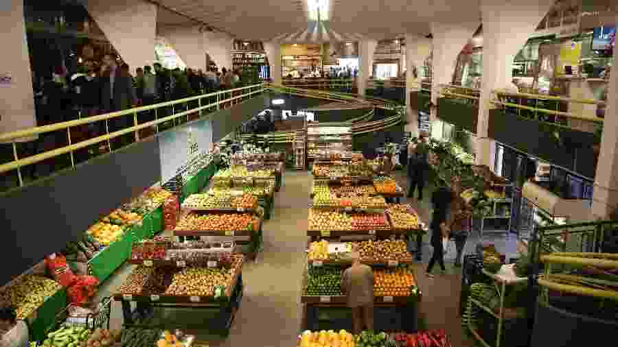 Mercado Municipal de Pinheiros - Zanone Fraissat/FOLHAPRESS