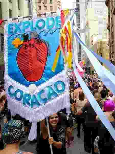 Bloco Explode Coração agita as ruas do Centro de SP desde 2016 - Divulgação