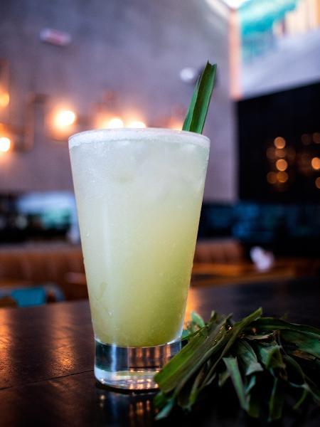 Drinque Lemon Grass Tea, do MOBI - Divulgação