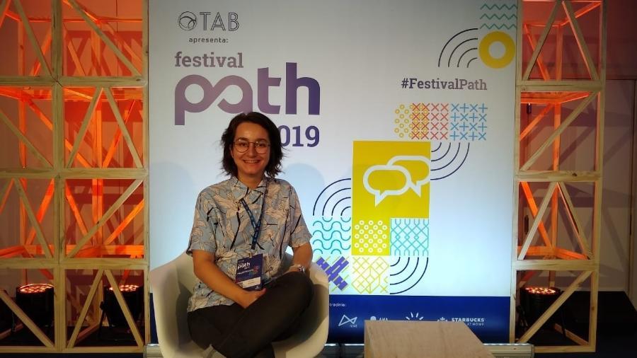 A pesquisadora Ellen de Aquino, palestrante do Festival Path 2019 - Da redação/UOL