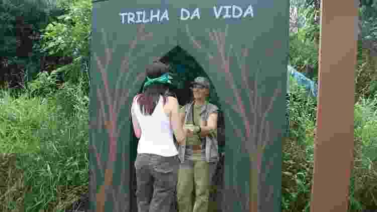 Trilha da Vida - Acervo Fundação Florestal - Acervo Fundação Florestal