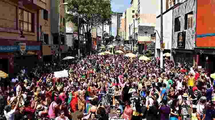 Bloco Bollywood no Carnaval de São Paulo de 2018 - Divulgação