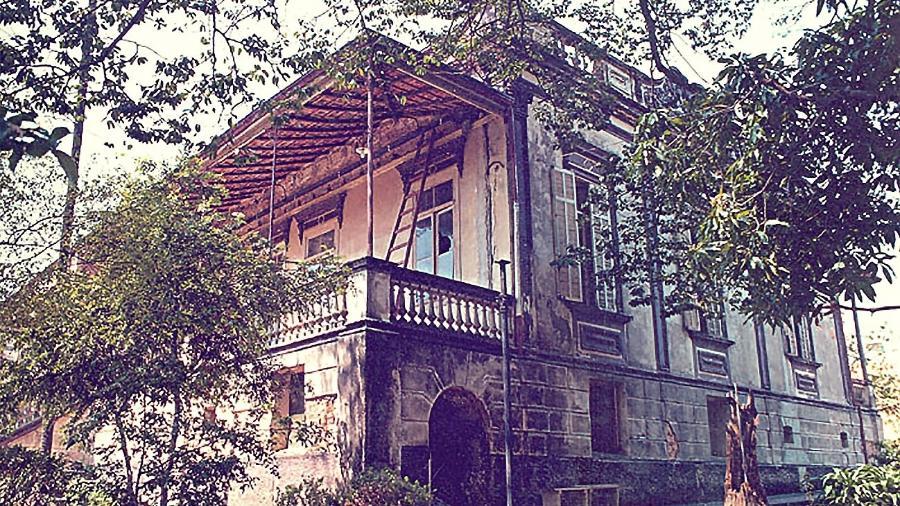 A casa da Dona Yayá é considerada um ponto mal-assombrado no Bixiga  - Arquivo São Paulo Antiga