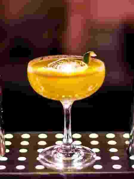 Drinque Golden Gai, do bar Buraco - Divulgação
