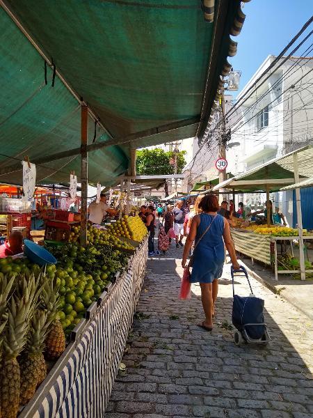 A feira Moraes Barros é a mais antiga em atividade na cidade - Cintia Marcucci / UOL