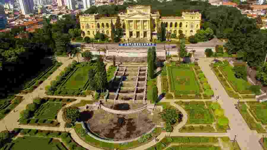 O Museu Paulista continua fechado, mas o Parque da Independência é passeio certo em São Paulo - Dario Oliveira/Folhapress