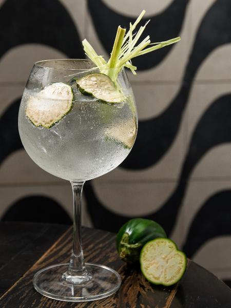 Drinque Gin-Ió Tônica, do Pirajá - Lucas Terribili / Divulgação