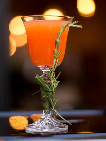 Drinque Soco Inglês, do Box St. Burguer & Bar - Divulgação