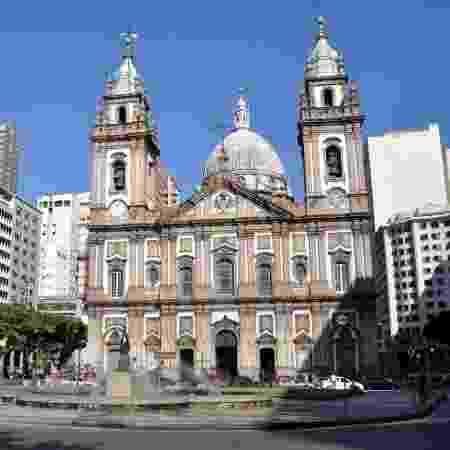 Igreja de Nossa Senhora da Candelária, no Rio de Janeiro - RioTur / Divulgação - RioTur / Divulgação