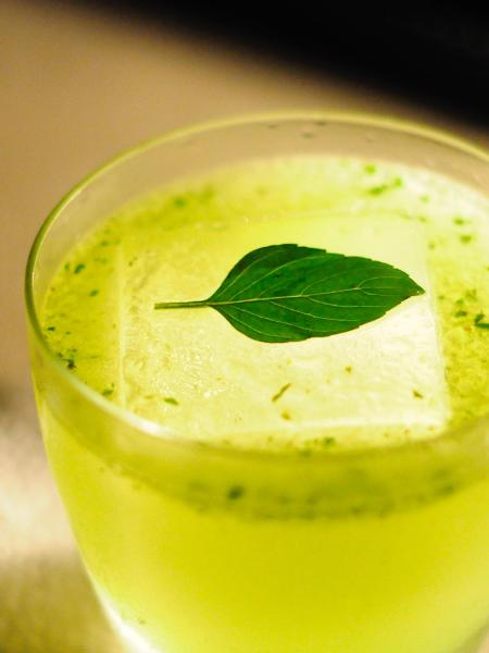 Drinque Gin Pesto, do Cava Bar - Marcela Arone / Divulgação