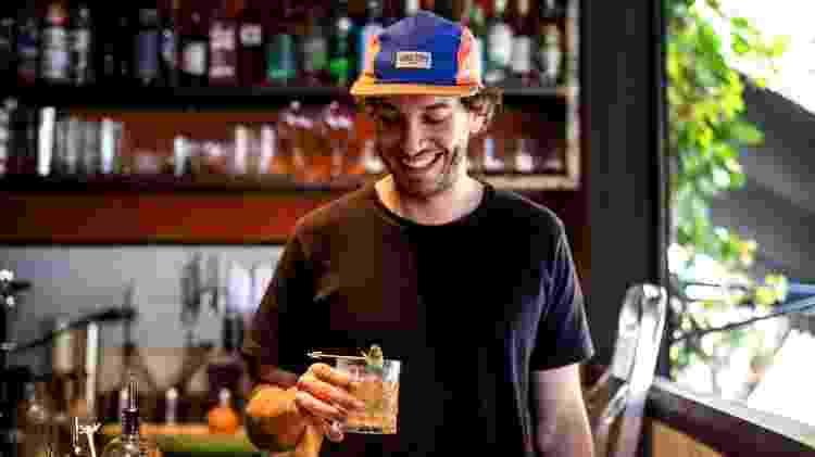 Lula Mascella, bartender do Picco - Divulgação