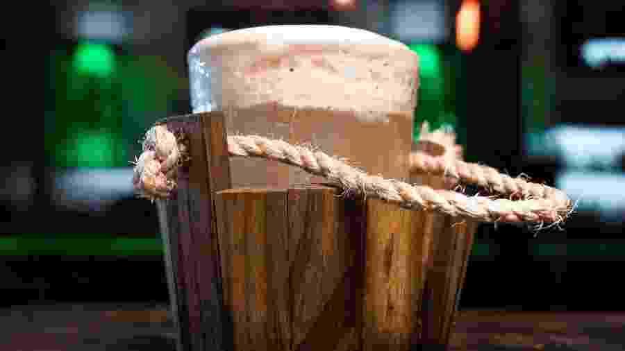 Barrel, drink autoral do Trabuca - Divulgação