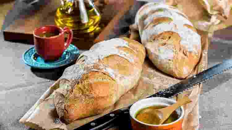 Pão de azeite da Santiago Padaria Artesanal - Leo Feltran / Divulgação - Leo Feltran / Divulgação