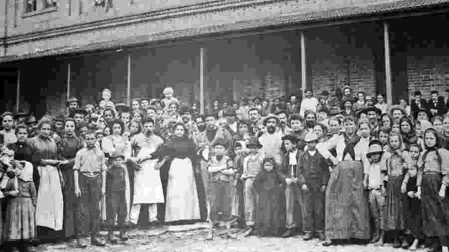 Imigrantes Italianos em São Paulo - Wikimedia Commons