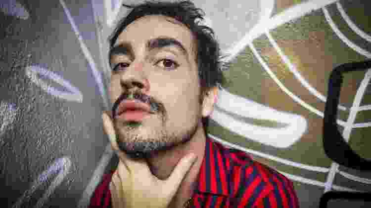 Johnny Hooker no Heineken Block em São Paulo 10/03/2018 - Edson Lopes Jr./UOL - Edson Lopes Jr./UOL