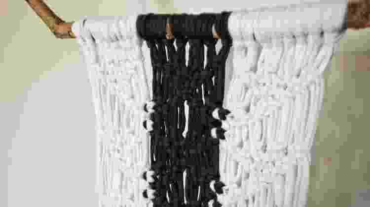 Hangers e painéis de macramê estão em alta na decoração - Divulgação - Divulgação