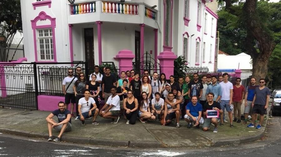 O primeiro tour LGBT do Brasil visita pontos simbólicos da comunidade em São Paulo - Reprodução Facebook/Free Walking Tour LGBTT