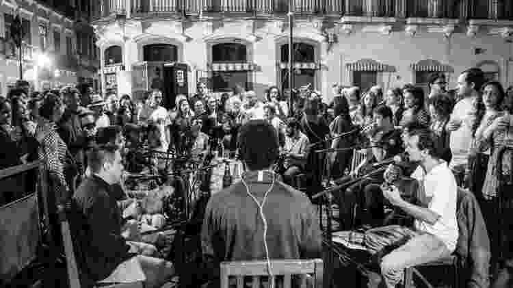 Samba da Rua do Ouvidor, no Rio de Janeiro - Divulgação - Divulgação