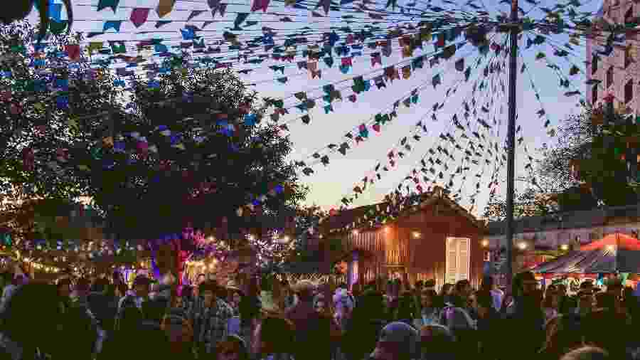 Festa Arraial Nos Trilhos - Marcus David / Divulgação