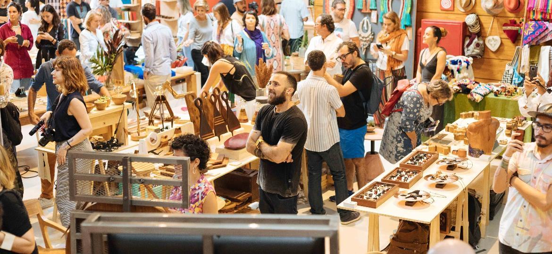 A feira Rosenbaum foi criada há seis anos - Divulgação