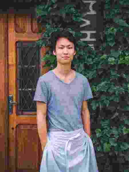 Paulo Shin, chef que comanda o restaurante Komah - Divulgação
