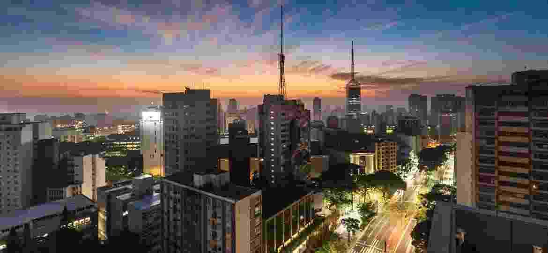 Vista do Mirante do Sesc da Avenida Paulista - Divulgação