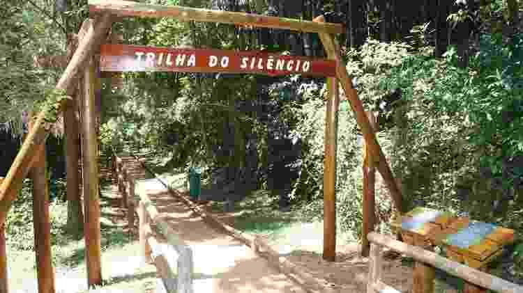 Trilha do Silêncio - Acervo Fundação Florestal - Acervo Fundação Florestal