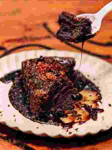 Brownie Abs, do Burger Joint New York, que leva raspas de bacon - Divulgação