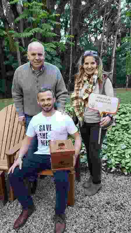 Com 15 cm², as caixinhas de madeira têm capacidade para abrigar de 3 mil a 5 mil abelhas da espécie jataí - Divulgação