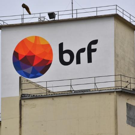 Vista da fábrica da BRF em Chapecó (SC) - Nelson Almeida/AFP