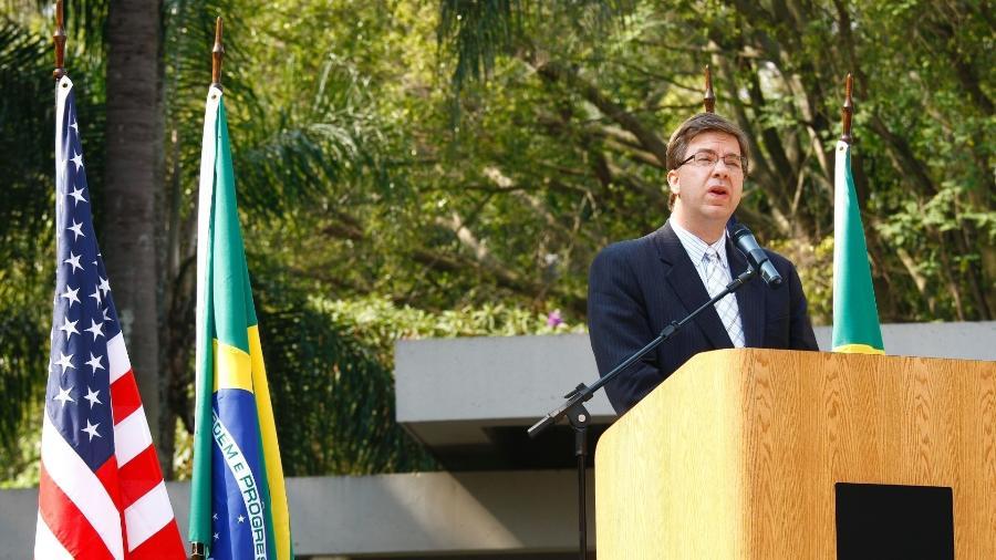 Todd Chapman, embaixador dos Estados Unidos no Brasil, anunciou aposentadoria - Moacyr Lopes Junior/Folhapres