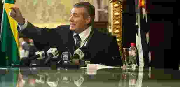 Ivan Sartori foi o único a votar pela absolvição dos PMs - Eduardo Anizelli/Folhapress
