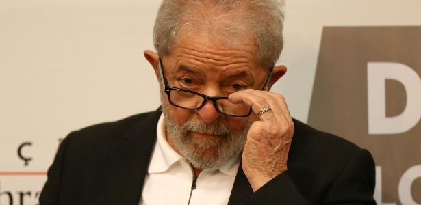 6.abr.2018 - Ex-presidente Luiz Inácio Lula da Silva